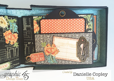 Artisan style, Graphic 45, house warming home decor, mini album
