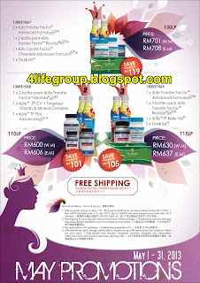 'May 2013 Promotion Packages
