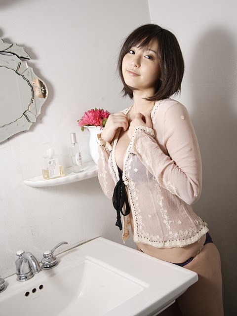 Yuri Murakami in Bathroom