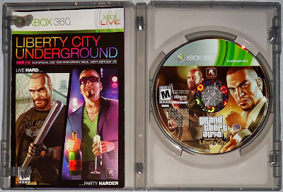 My Collection Grand Theft Auto Episodes From Liberty City Platinum Hits Xbox 360
