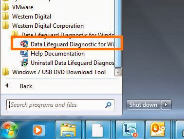 WD Data LifeGuard Diagnostics