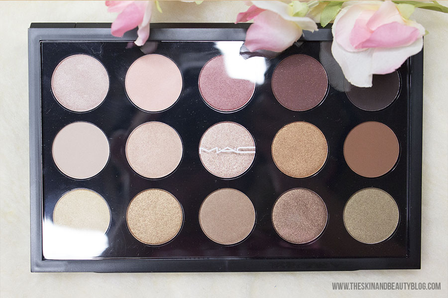 MAC Eye Shadow x15 Warm Neutral Palette Review, Swatches!