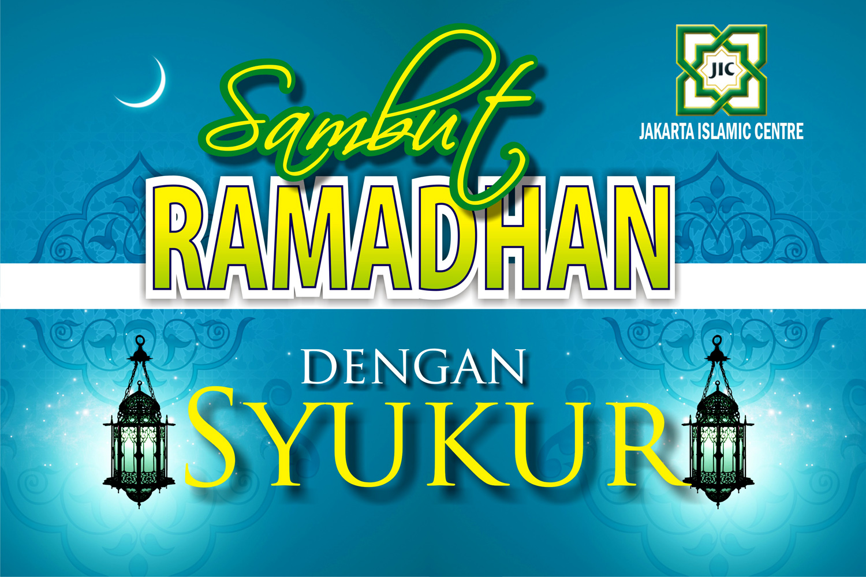 Desain Banner, Spanduk Ramadhan Mitra Jakarta Islamic Centre