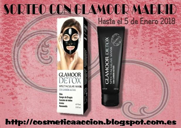 """sorteo mascarilla """"Glamoor Detox"""" de GLAMOOR MADRID"""
