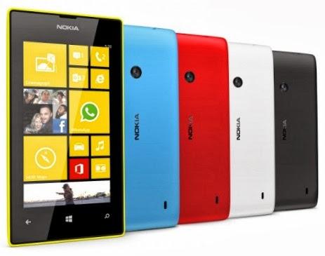 520 Harga Nokia Lumia 520 Oktober 2013