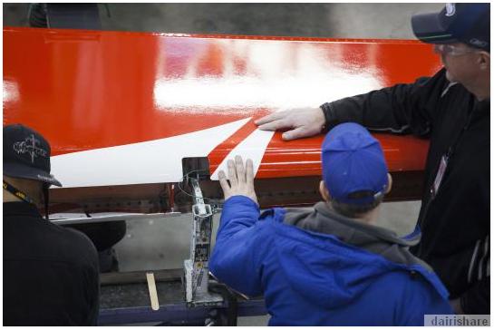 Melawat Kilang Pemasangan Pesawat Boeing 737