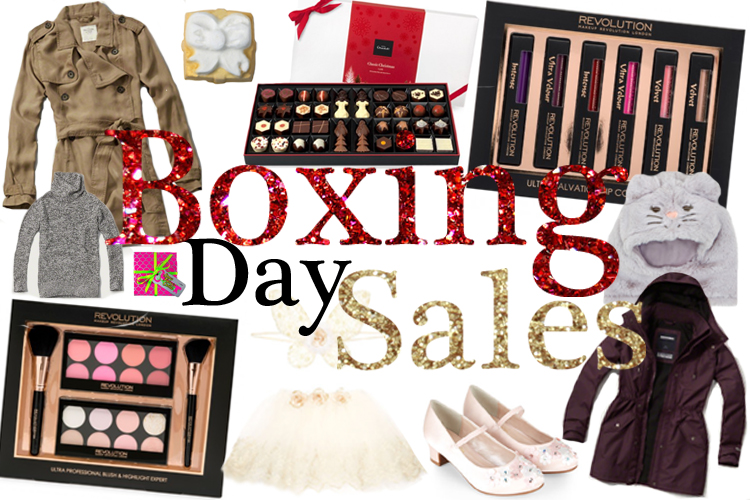 Boxing Day Sales, December 2015 Sales, Makeup Revolution, Abercrombie, Hollister, Hotel Chocolat, Monsoon