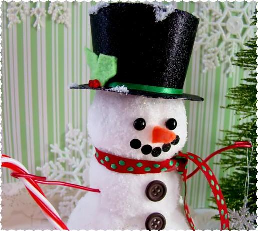 Alyssabeths Vintage: Frosty The Snowman DIY Tutorial