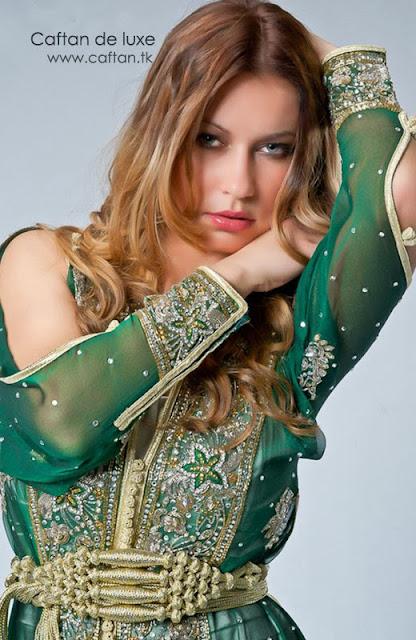 ILE-DE-FRANCE : Caftan robe de soirée 2014