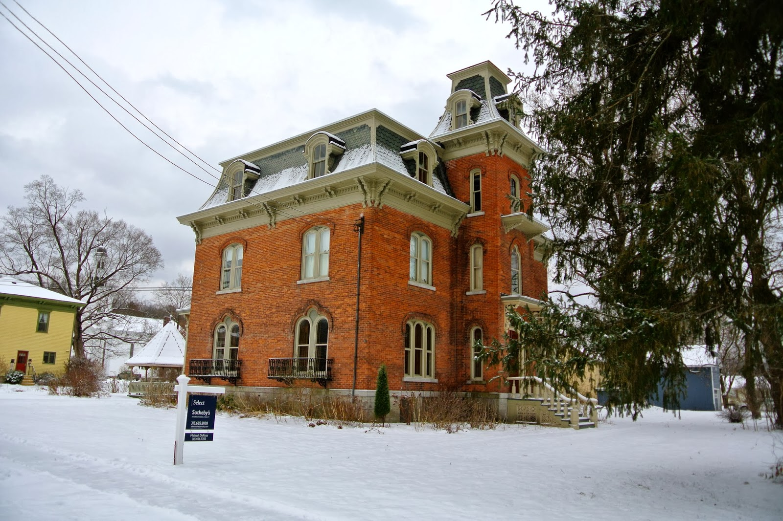 The Jewett Mansion.   Tom The Backroads Traveller