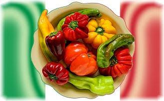 Италия, флаг, еда