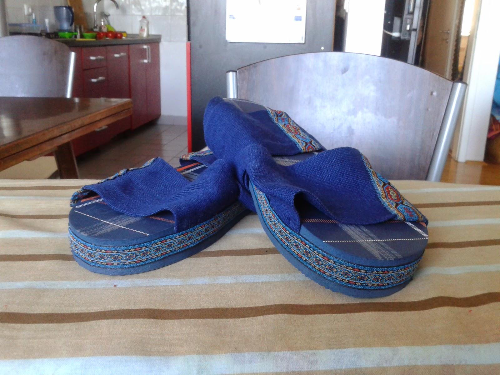 http://curvyrefash.blogspot.com/2014/07/refashion-no-4-sandals-from-flip-flops.html