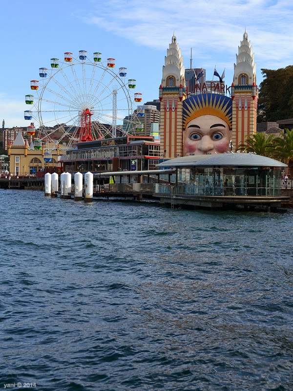 across the harbour to luna park