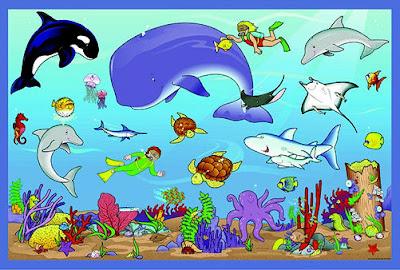 Ocean Animals Clip Art 070212» Vector Clip Art - Free Clip Art Images