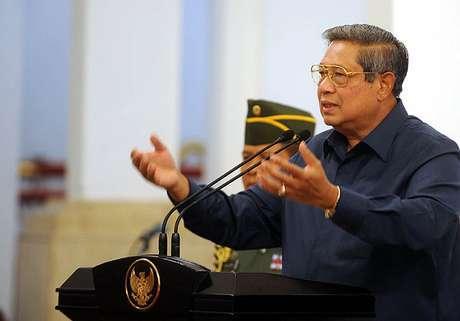 SBY Berpidato di Sekolah Perwira Militer Inggris