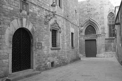 Carrer de la Pietat in Barcelona Gothic Quarter