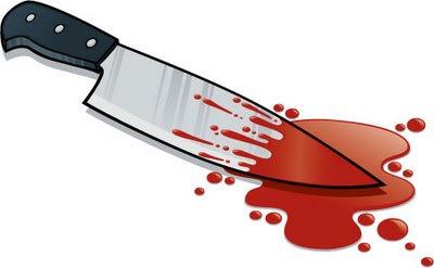 kes pembunuhan, bunuh denan pisau, senjata membunuh