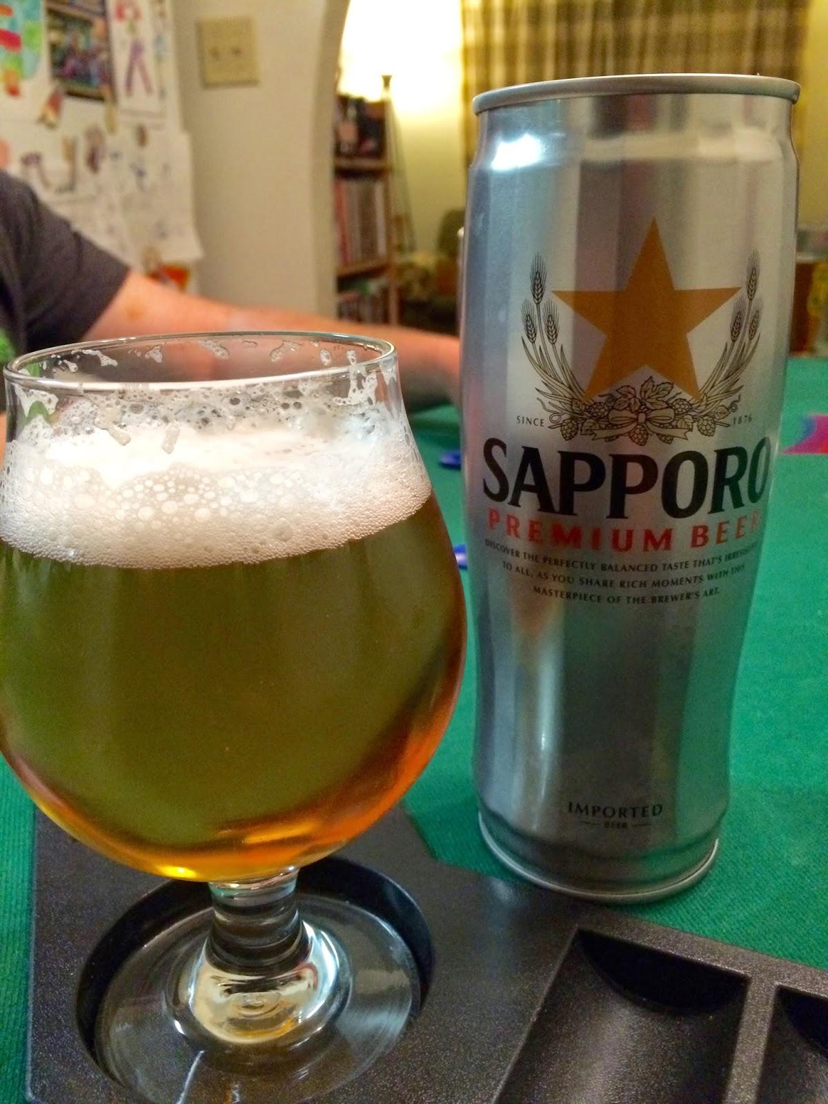 Sapporo Premium Beer 1