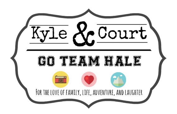 Kyle and Court ~ Go Team Hale