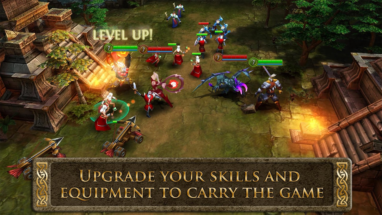 heroes of order and chaos apk mod unlimited