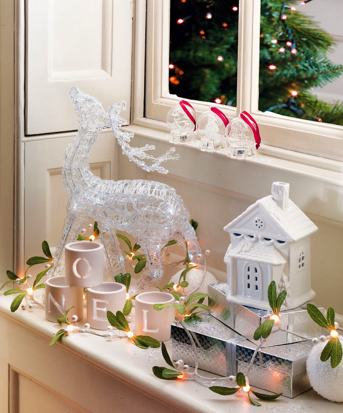 Iluminación para Navidad de Laura Ashley - Ideas