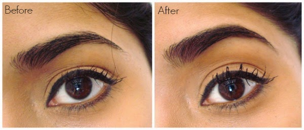 Anastasia Brow Wiz Before and After