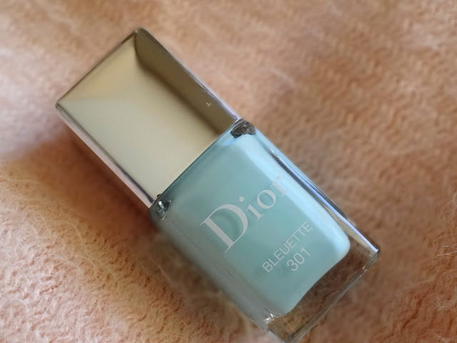 Dior Vernis Bleuette 301 | Dior Glowing Gardens Spring 2016 Collection