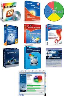 Daftar Program Aplikasi Software untuk Manajemen dan Partisi Hardisk