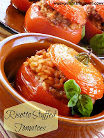 Risotto Stuffed Tomatoes: Ms. enPlace