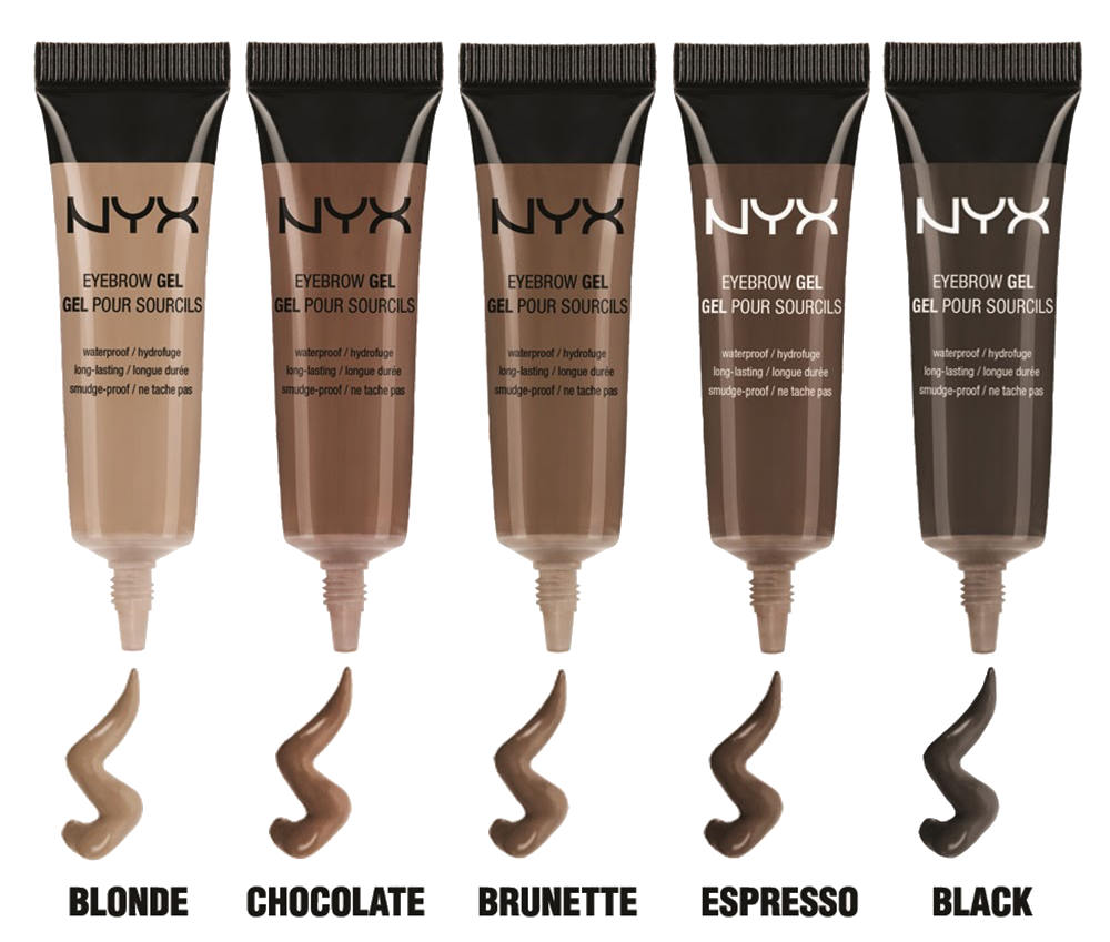 """Review: NYX Eyebrow Gel in """"Chocolate""""   Simple Stylings"""