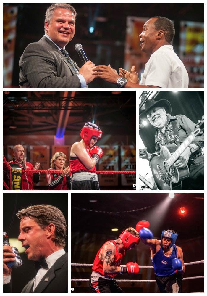ringside for youth; boys and girls club ottawa; ottawa senators; sugar ray leonard