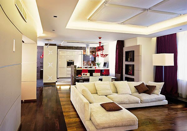 Top 28 modern front room designs white living room for Front room designs