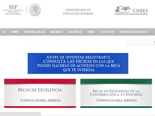 Solicitud Becas PRONABES Becas de Excelencia Servicio Social Vinculación y Titulación Inscripciones registro 2014 2015