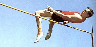 Saltador de altura Dick Fosbury.