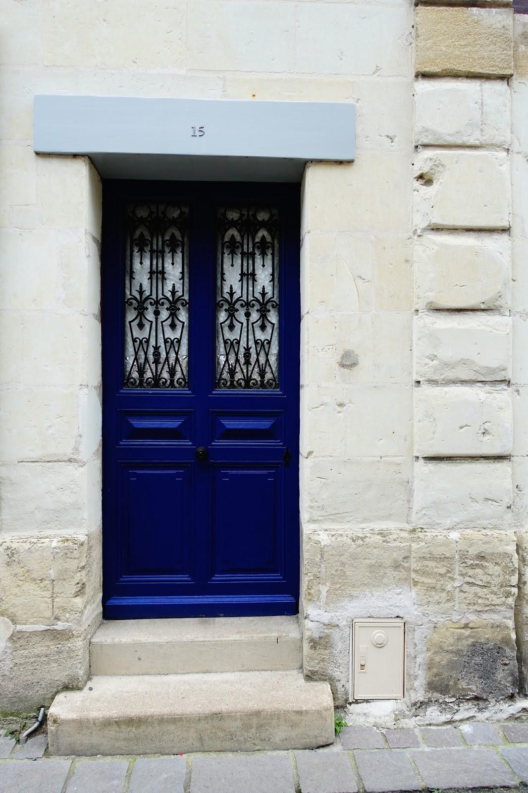 Blue Doors in France & Blue Doors in France | CHOCOLATE u0026 CROISSANTS