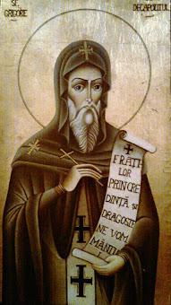 Sfinte Preacuvioase Parinte Grigorie, roaga-te lui Hristos Dumnezeu pentru noi !