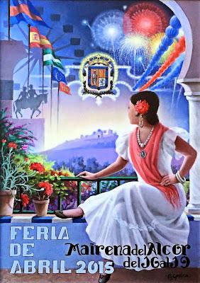 Feria de Mairena del Alcor 2015 - Cartel de Antonio Gavira