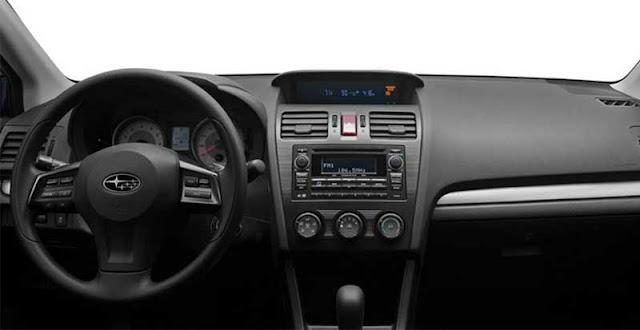 2012 Subaru Impreza 2.0i Sport Premium dashboard