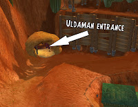 uldaman instance entrance location