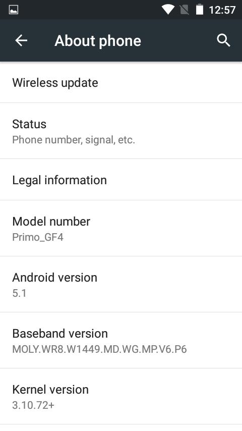 Primo GF4 review OS