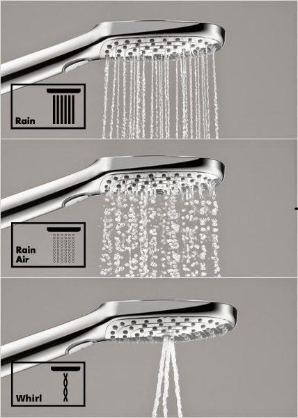 nadine testet produkte hans grohe duschkopf raindance select e 120. Black Bedroom Furniture Sets. Home Design Ideas