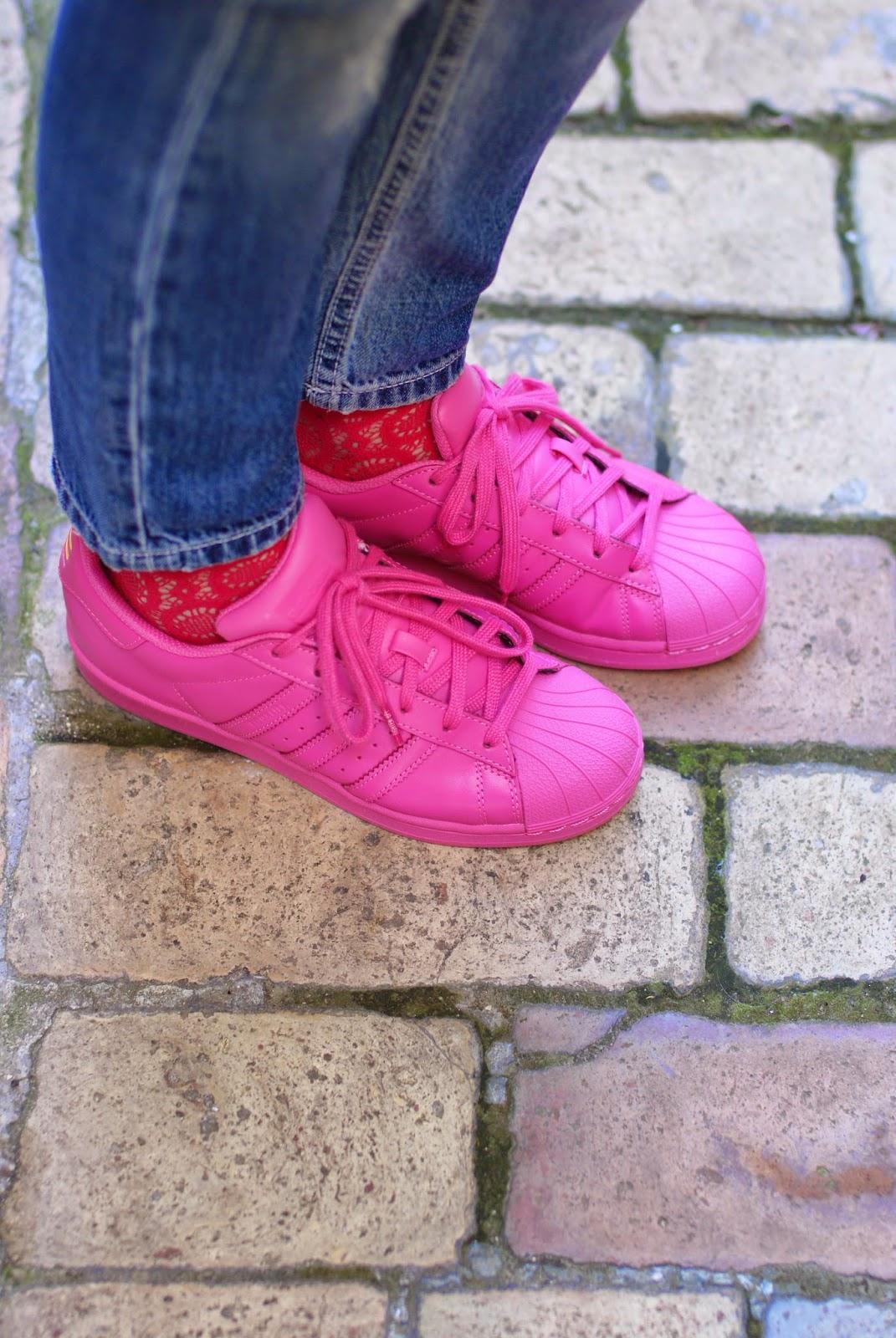 adidas supercolor pink, semi solar pink adidas originals, fashion and cookies, fashion blog