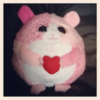 Happy Heart Hamster