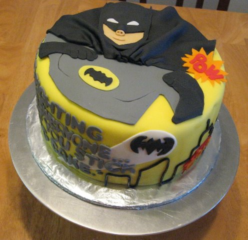 Happy Birthday Batman Cake September