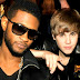 Justin Bieber And Usher of Tracing song?