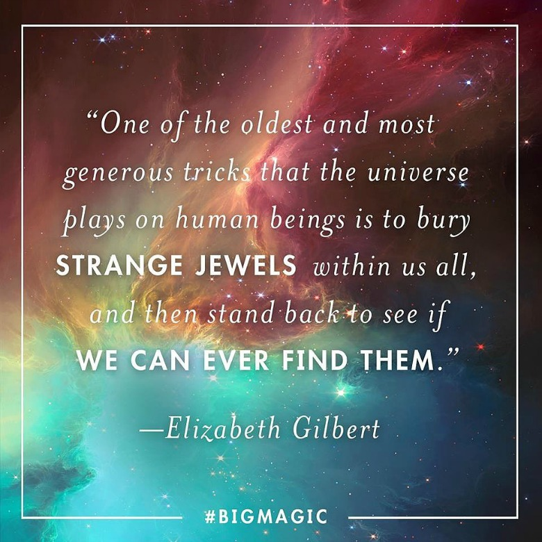 "Elizabeth Gilbert ""Big Magic"""