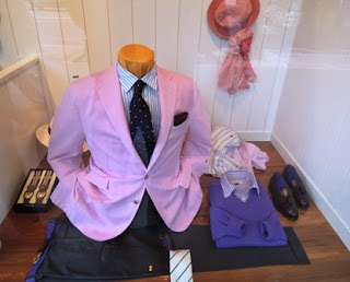 pink, blazer, men's fashion