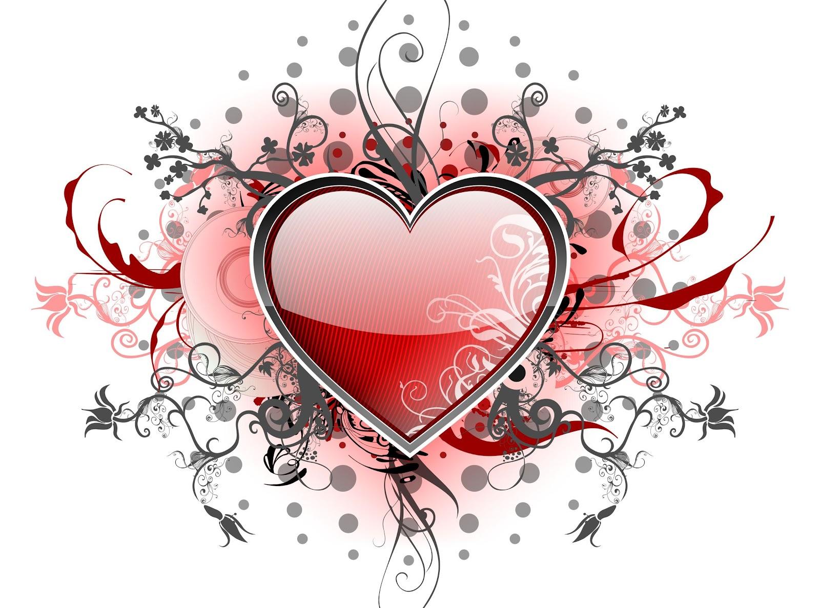 Corazón con diseño cautivador
