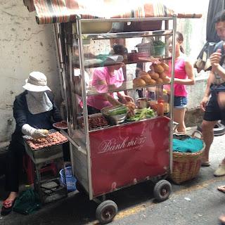 vietnam, otcb on tour, food, cart