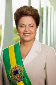 Reeleita a presidente Dilma Rousseff.